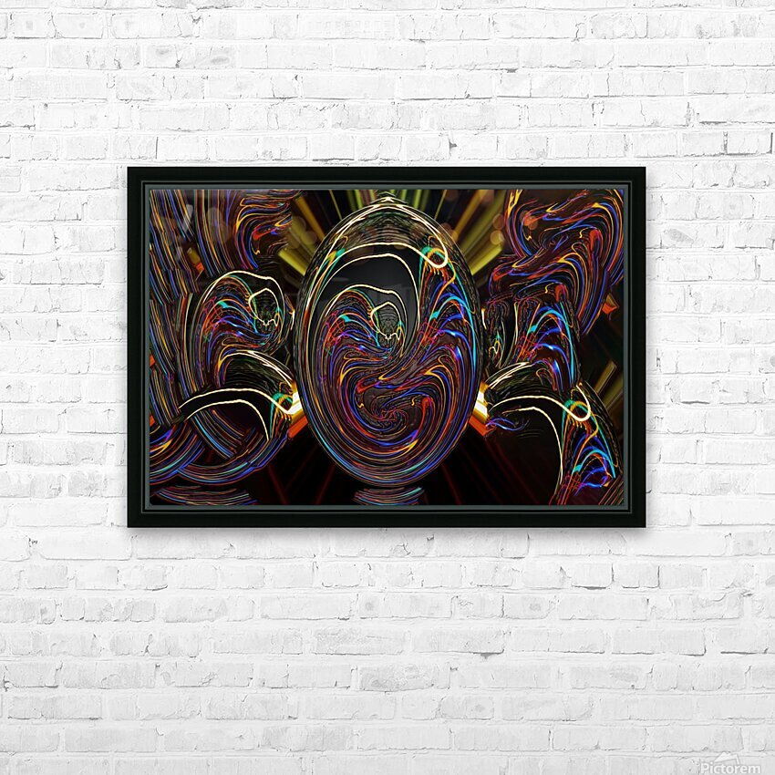 LENNYEGG HD Sublimation Metal print with Decorating Float Frame (BOX)