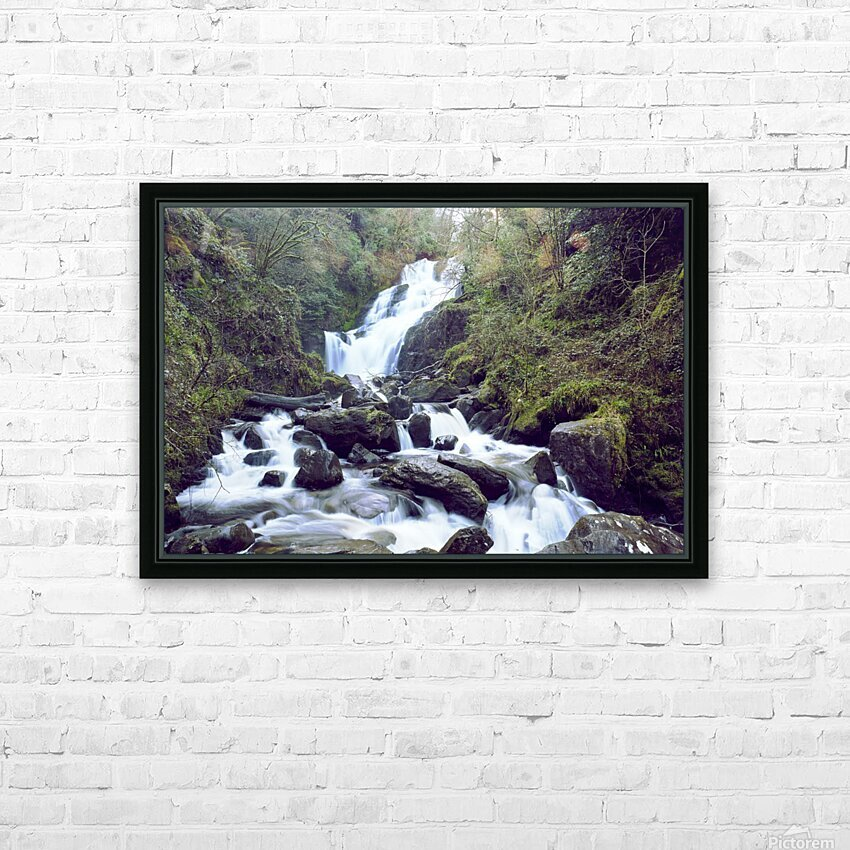 Torc waterfall in Killarney National Park HD Sublimation Metal print with Decorating Float Frame (BOX)