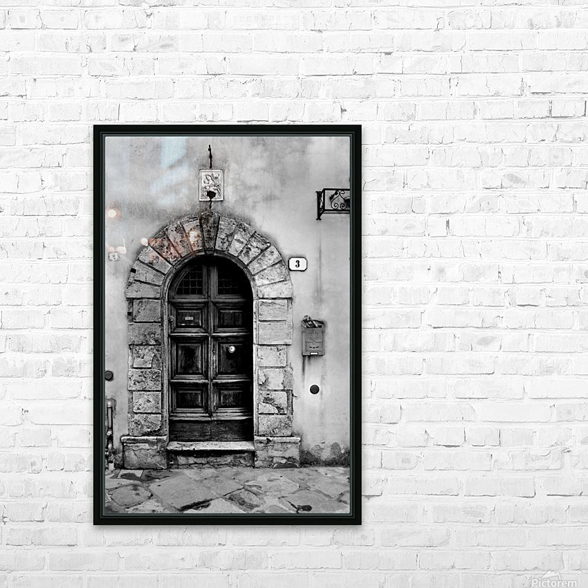 MONTEPULCIANO HD Sublimation Metal print with Decorating Float Frame (BOX)