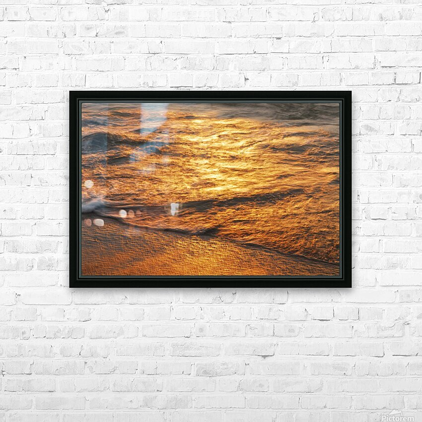 Lake Erie waves 5 HD Sublimation Metal print with Decorating Float Frame (BOX)