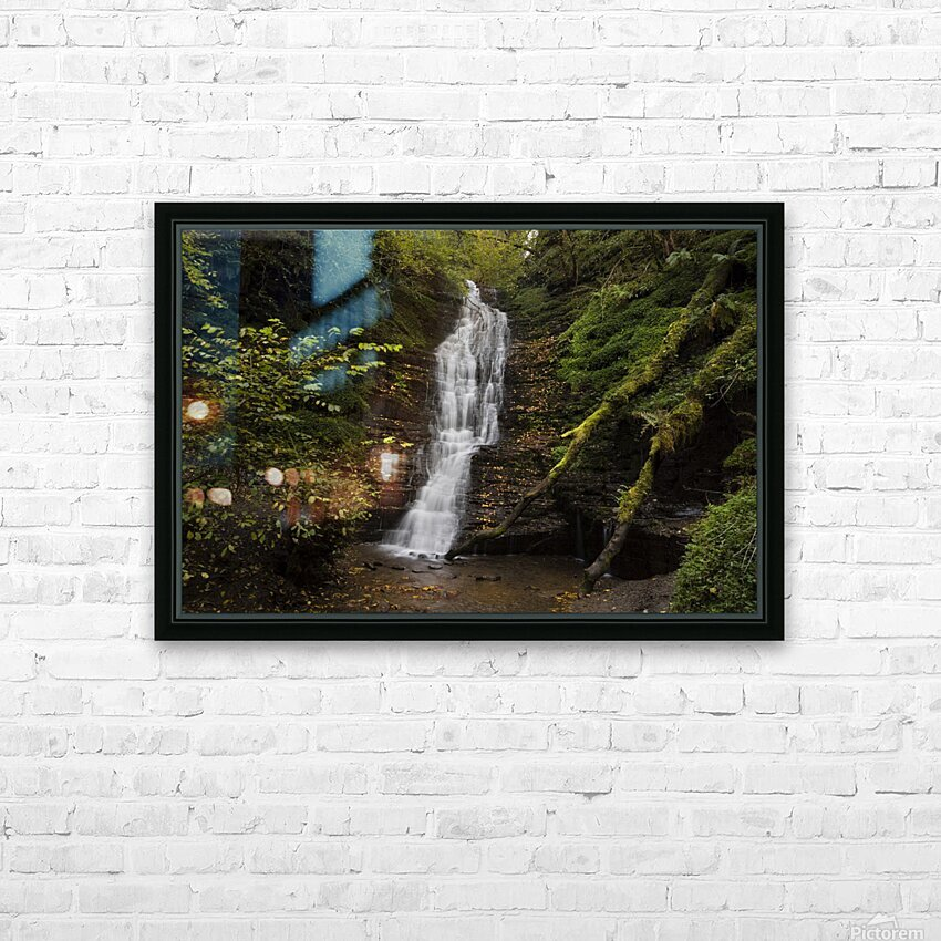Water-Break-its-Neck landscape HD Sublimation Metal print with Decorating Float Frame (BOX)