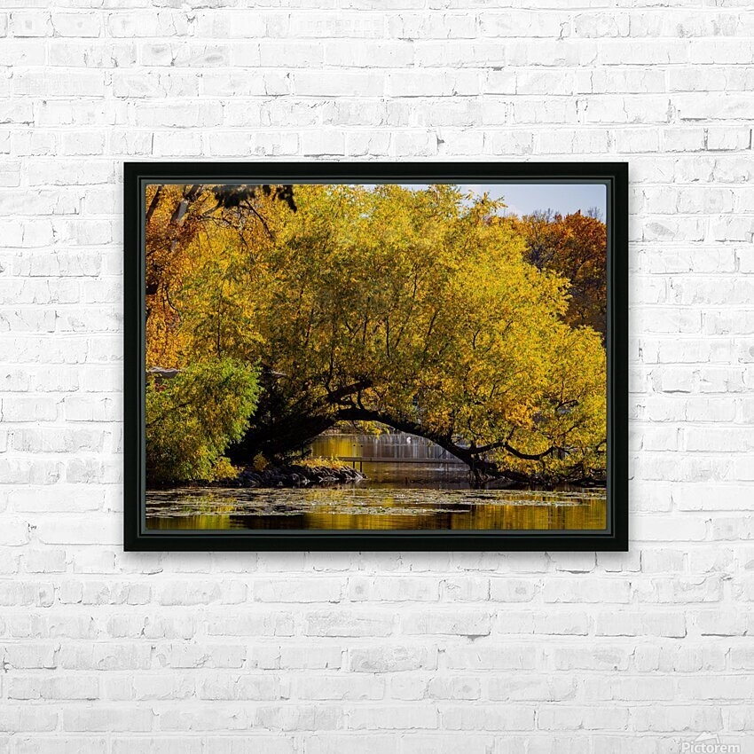 Arc de Treeomph HD Sublimation Metal print with Decorating Float Frame (BOX)