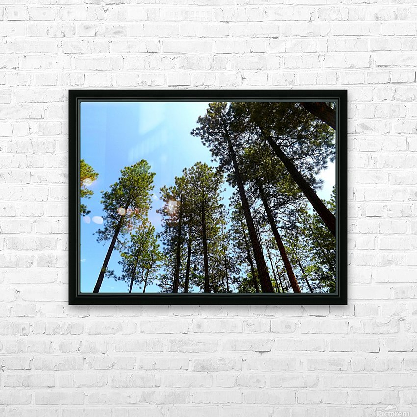 Blue Sky HD Sublimation Metal print with Decorating Float Frame (BOX)