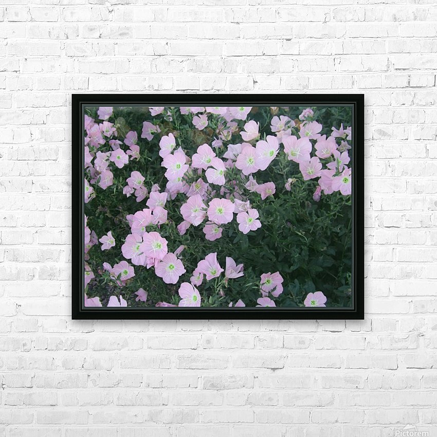 Flower Garden 2 HD Sublimation Metal print with Decorating Float Frame (BOX)