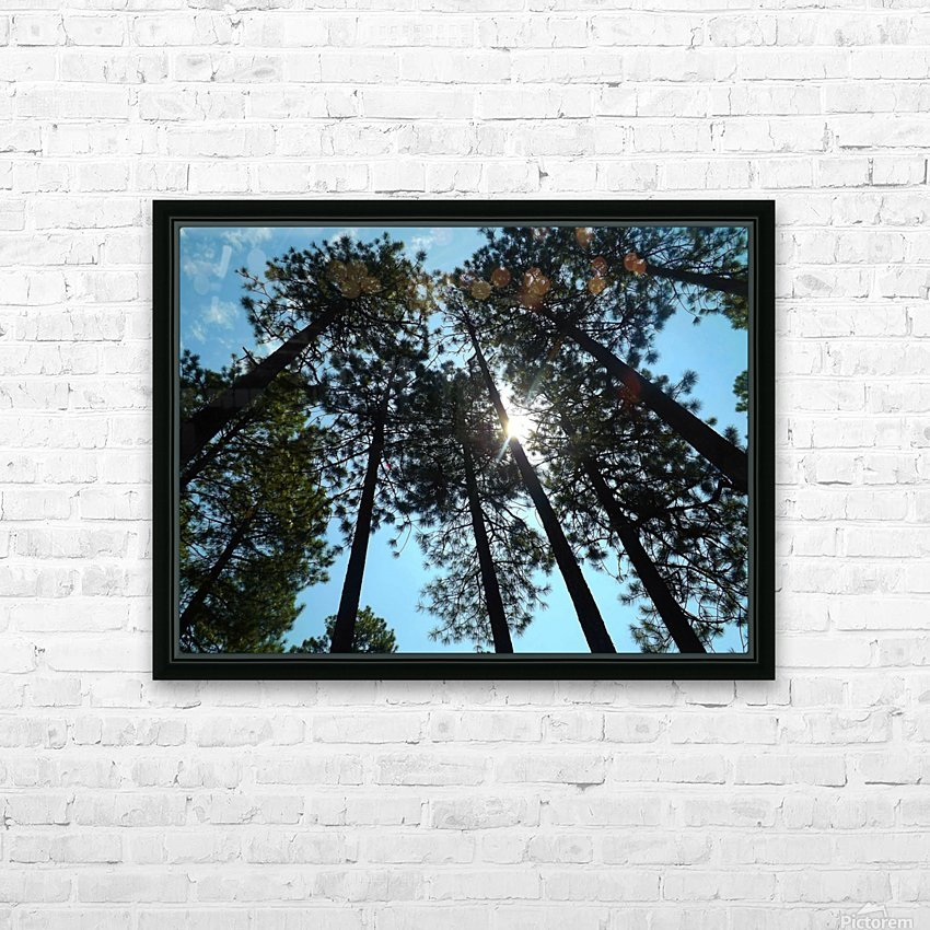 Look Up HD sublimation métal imprimé avec décoration flotteur cadre (boîte)