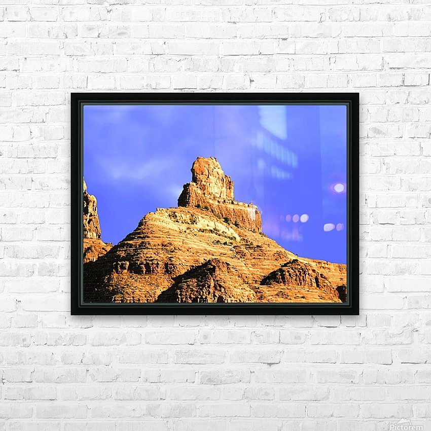 Sedona Red Rocks HD Sublimation Metal print with Decorating Float Frame (BOX)
