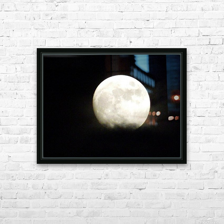 Shine On HD Sublimation Metal print with Decorating Float Frame (BOX)