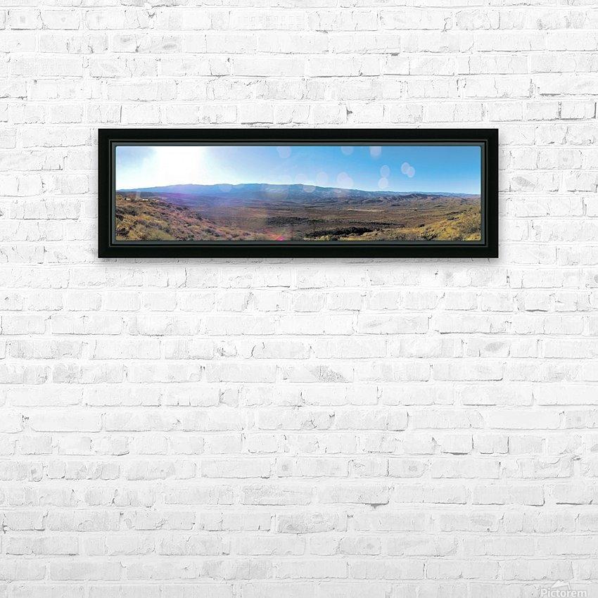 More at Sunset Pointe HD sublimation métal imprimé avec décoration flotteur cadre (boîte)