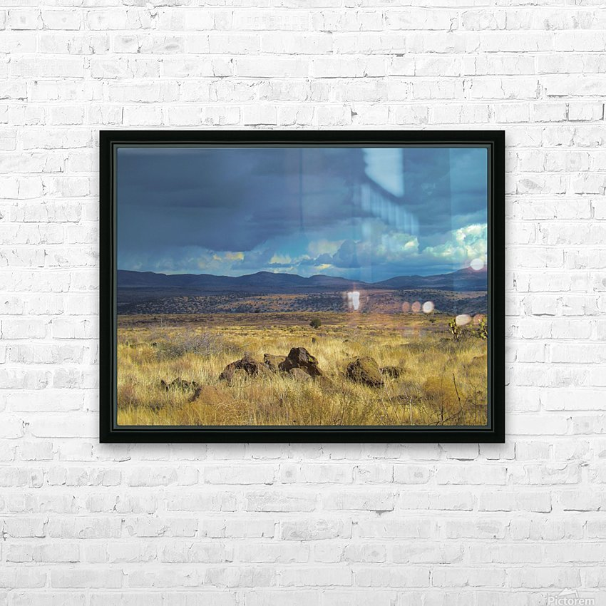 Storms Comin' HD Sublimation Metal print with Decorating Float Frame (BOX)