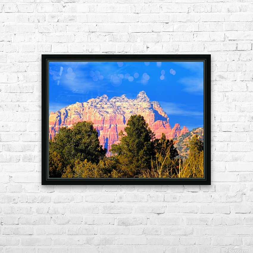 Such A View HD Sublimation Metal print with Decorating Float Frame (BOX)