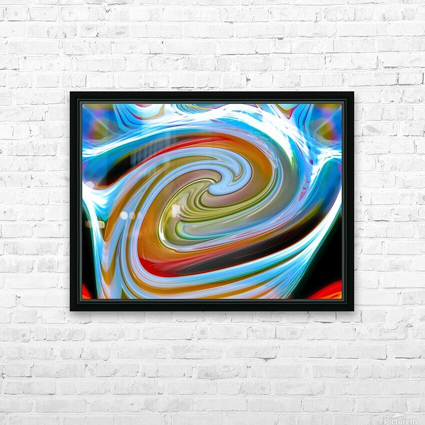 WORLD WIND HD Sublimation Metal print with Decorating Float Frame (BOX)