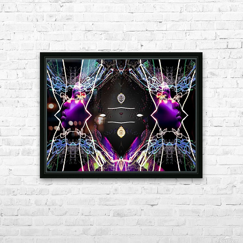QUEENZ HD Sublimation Metal print with Decorating Float Frame (BOX)