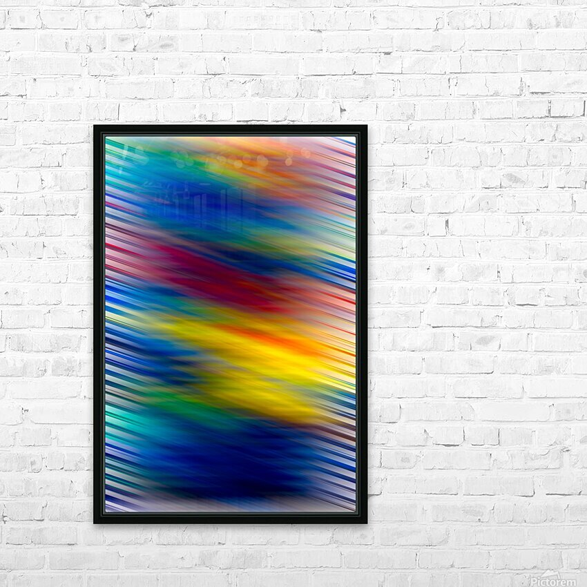 STREEKO COLORS HD Sublimation Metal print with Decorating Float Frame (BOX)