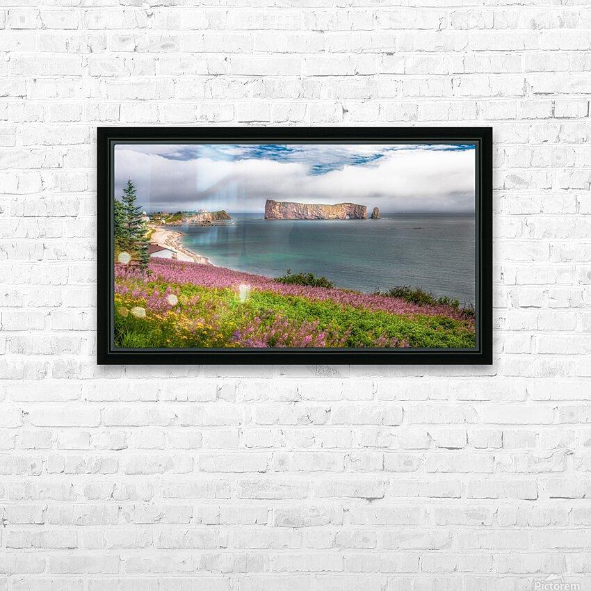 Baie de Perce HD sublimation métal imprimé avec décoration flotteur cadre (boîte)