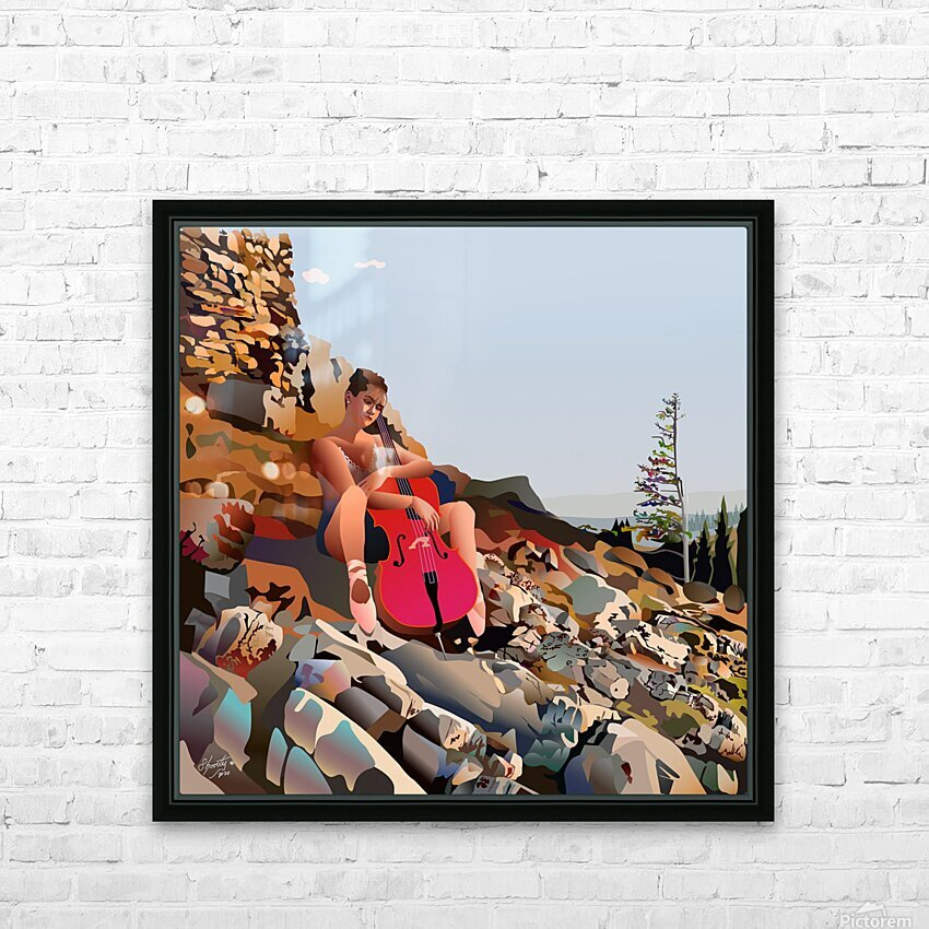 The Medicine of Medicine Bow HD Sublimation Metal print with Decorating Float Frame (BOX)