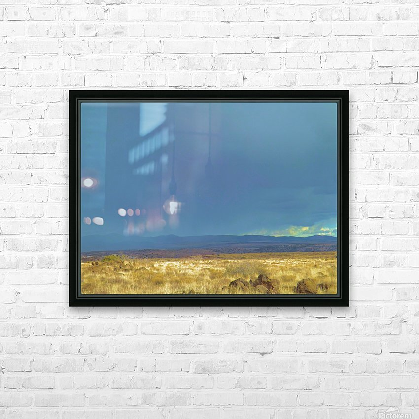 The Storm HD sublimation métal imprimé avec décoration flotteur cadre (boîte)