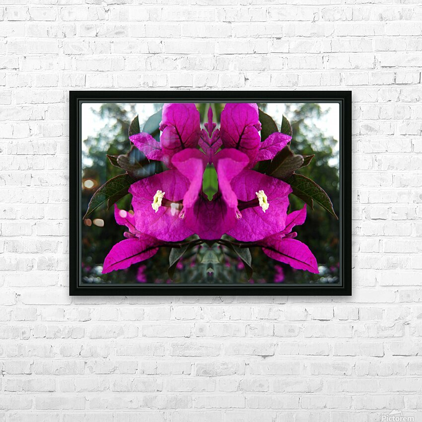 flower90 HD Sublimation Metal print with Decorating Float Frame (BOX)