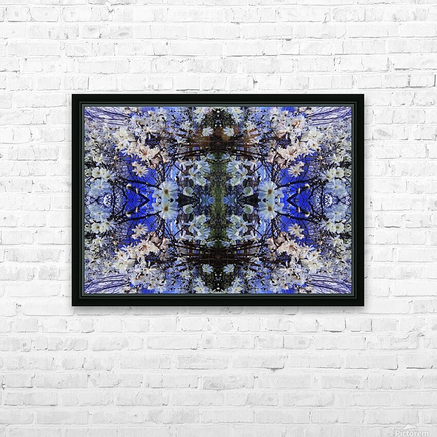 tree39 HD Sublimation Metal print with Decorating Float Frame (BOX)