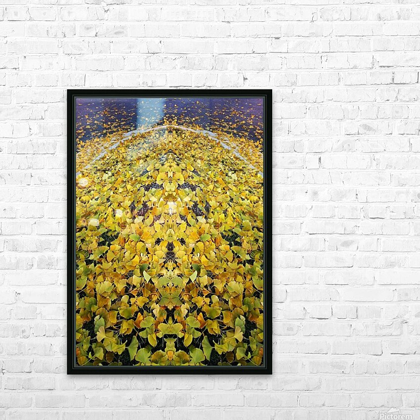 Autumn1 HD Sublimation Metal print with Decorating Float Frame (BOX)