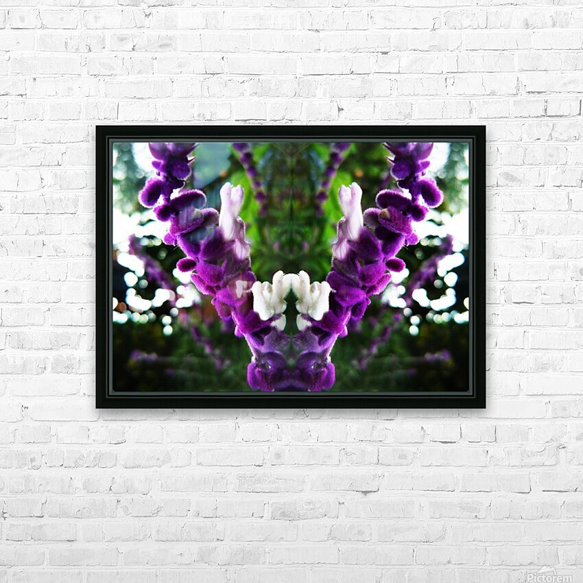 flower89 HD Sublimation Metal print with Decorating Float Frame (BOX)