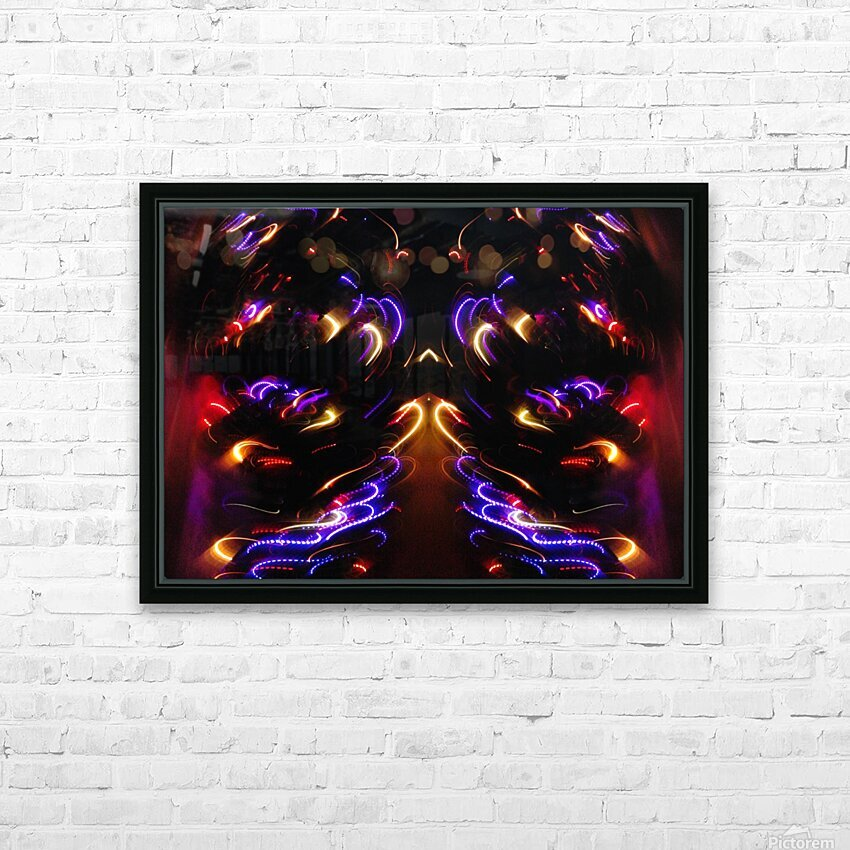 Lights17 HD Sublimation Metal print with Decorating Float Frame (BOX)