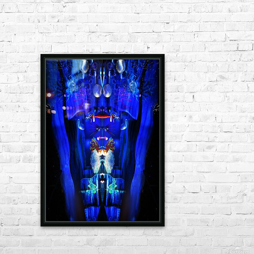 Lights12 HD Sublimation Metal print with Decorating Float Frame (BOX)