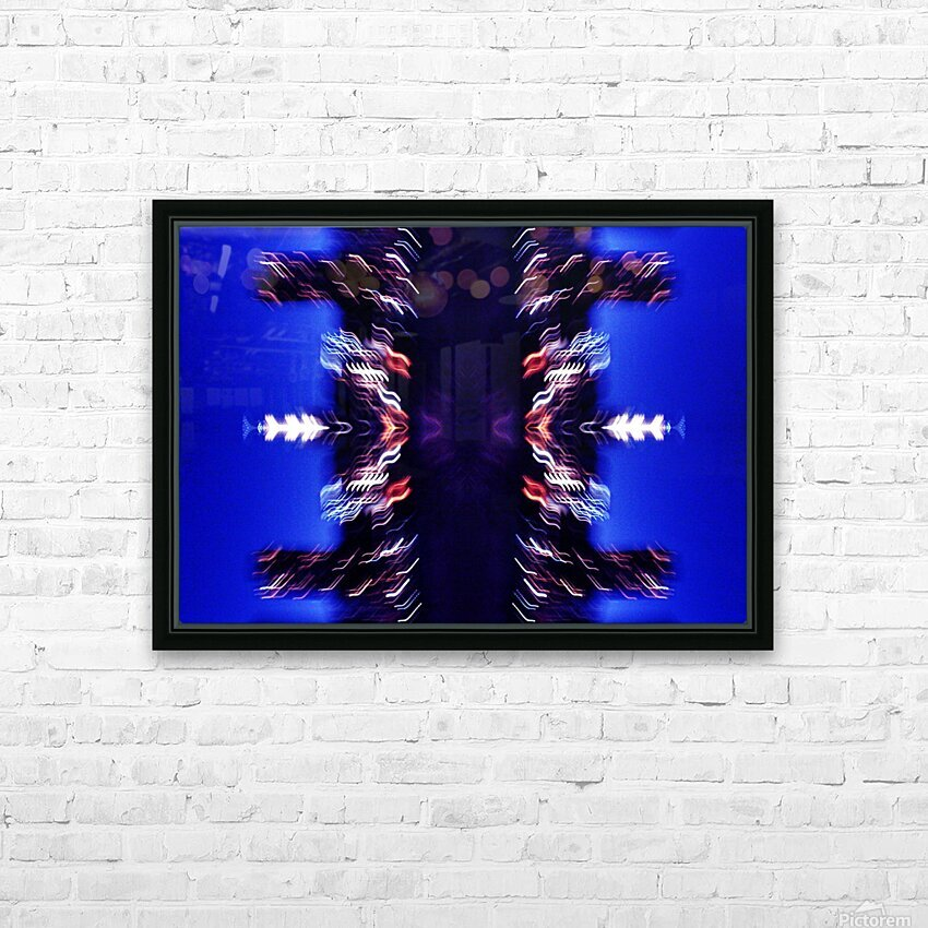 Lights47 HD Sublimation Metal print with Decorating Float Frame (BOX)