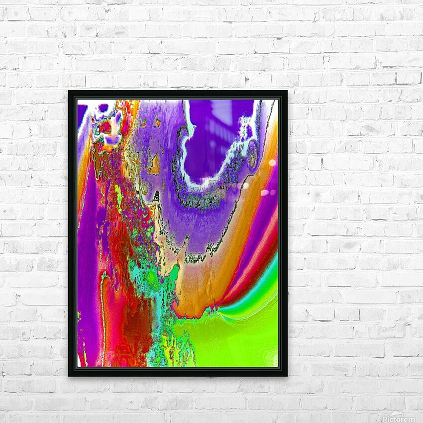Sacred colors HD Sublimation Metal print with Decorating Float Frame (BOX)