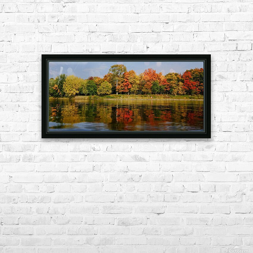 Fall in love with fall HD Sublimation Metal print with Decorating Float Frame (BOX)