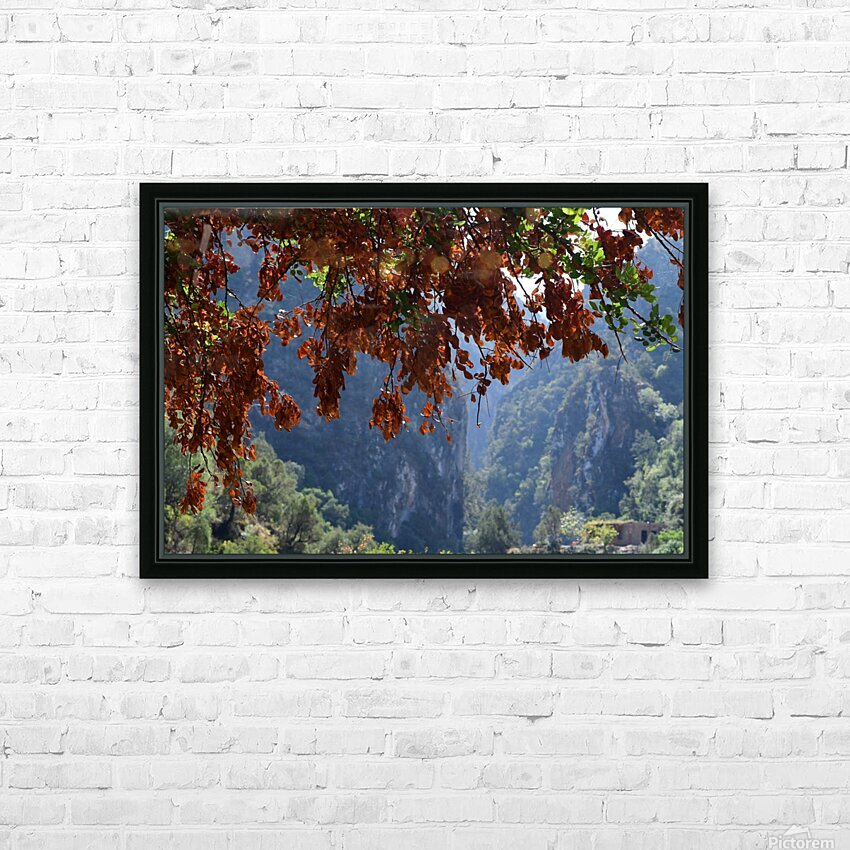 Akchour HD Sublimation Metal print with Decorating Float Frame (BOX)
