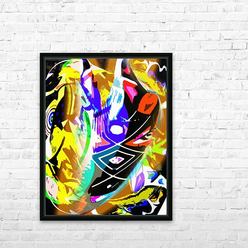 D M T HD Sublimation Metal print with Decorating Float Frame (BOX)
