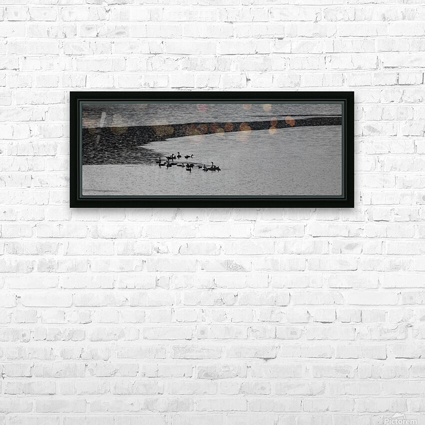 It's raining again HD Sublimation Metal print with Decorating Float Frame (BOX)