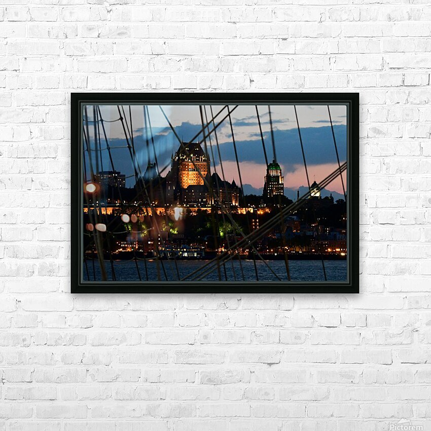 RDV 2017 HD Sublimation Metal print with Decorating Float Frame (BOX)