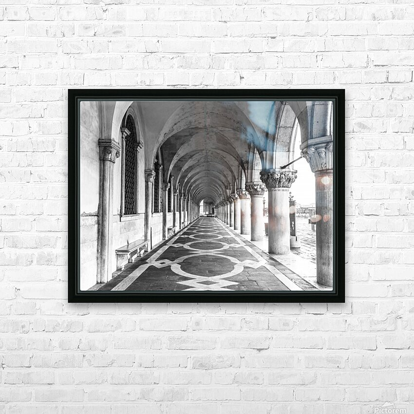 Doge's Palace archway in Venice, Italy HD Sublimation Metal print with Decorating Float Frame (BOX)