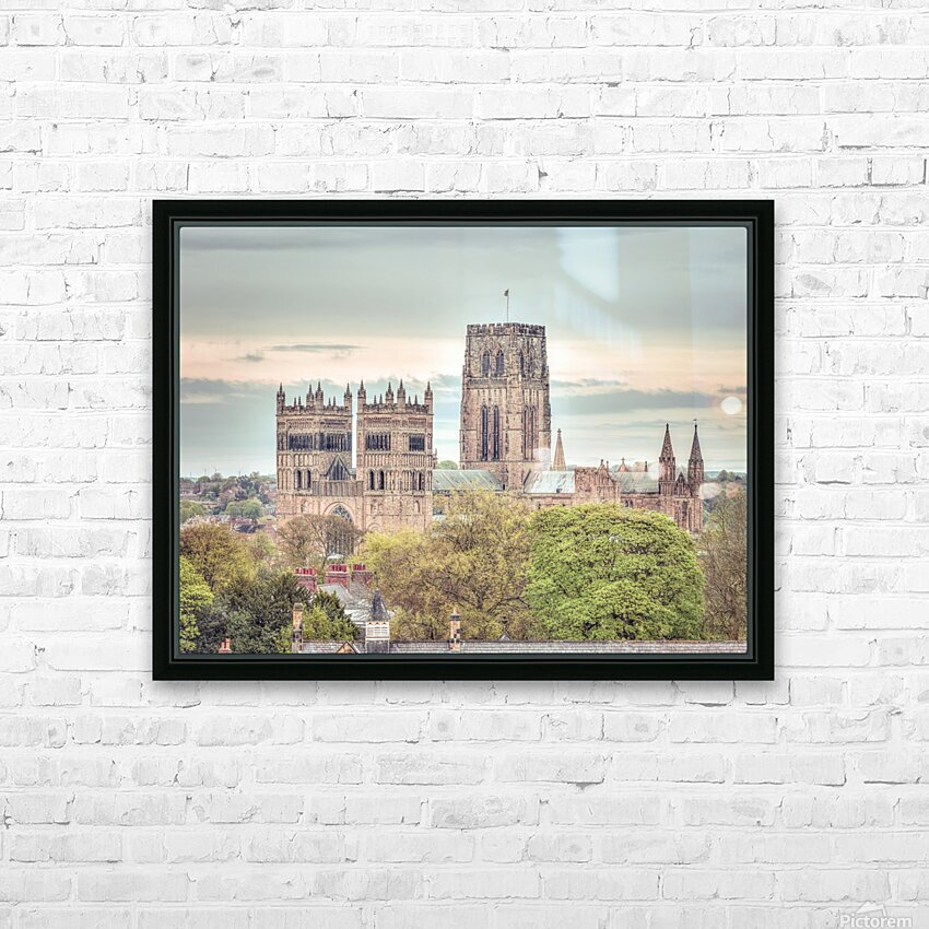 Durham Cathedral HD Sublimation Metal print with Decorating Float Frame (BOX)