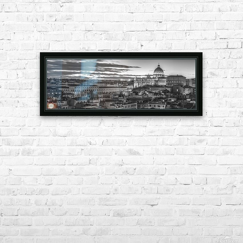 Vatican city with St. Peters Basilica, Rome, Italy HD Sublimation Metal print with Decorating Float Frame (BOX)