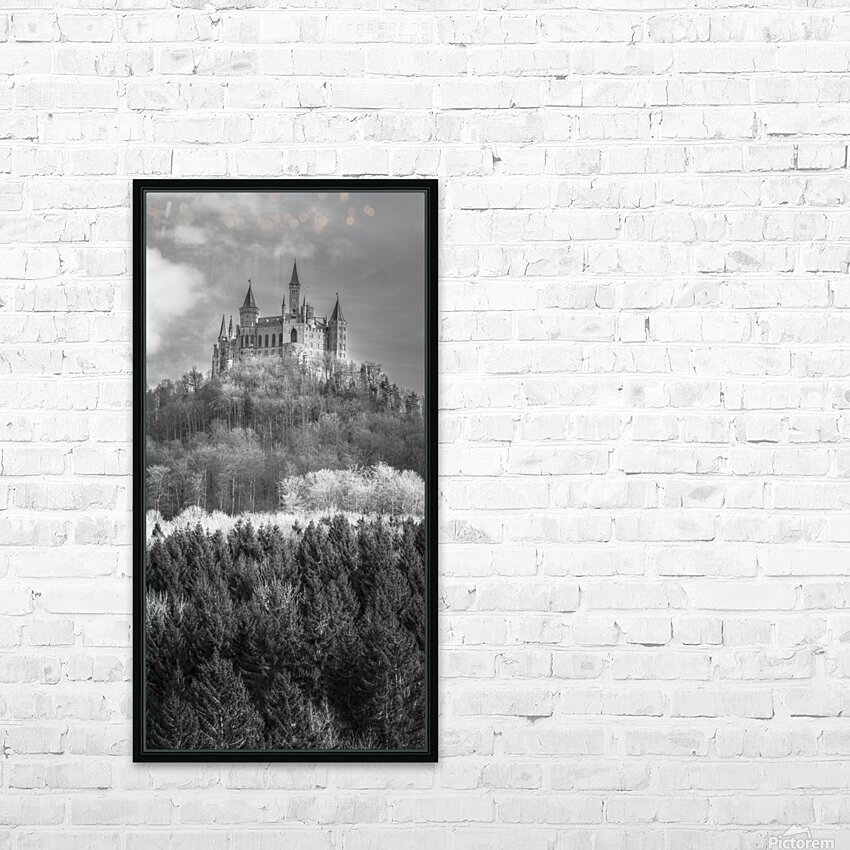 Hohenzollern Castle, Germany HD Sublimation Metal print with Decorating Float Frame (BOX)