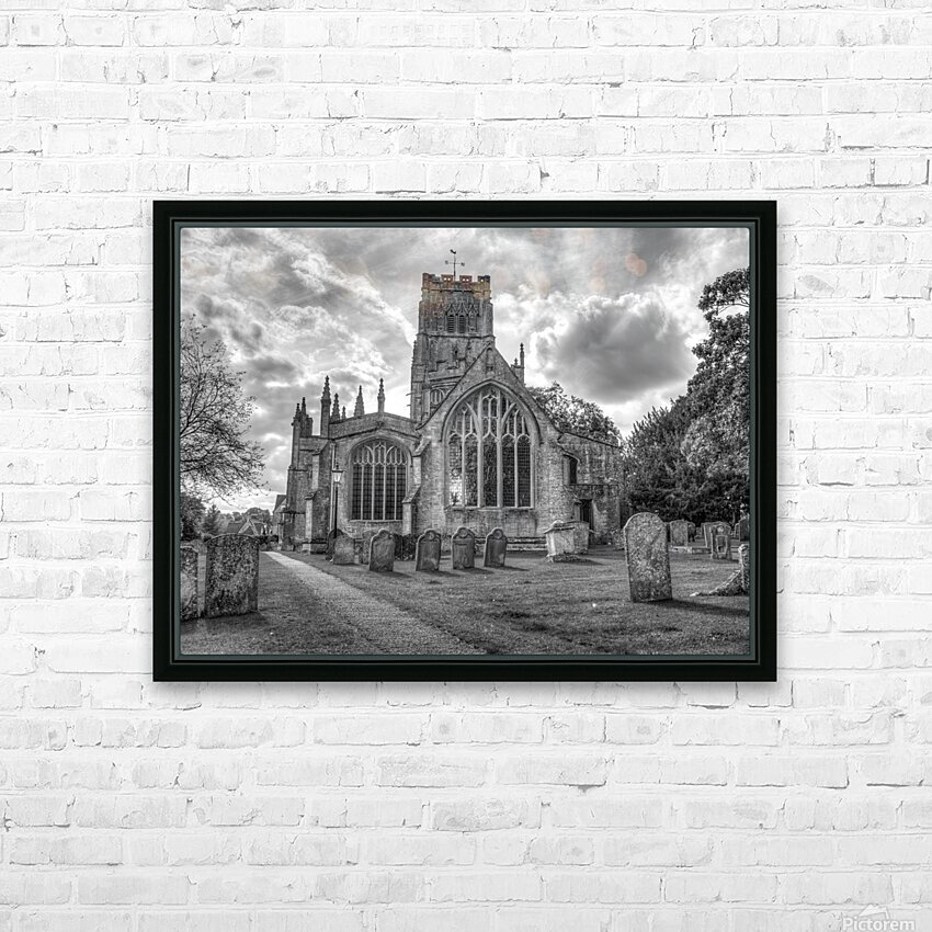 Old church in Northleach town, Cotswolds, UK HD Sublimation Metal print with Decorating Float Frame (BOX)