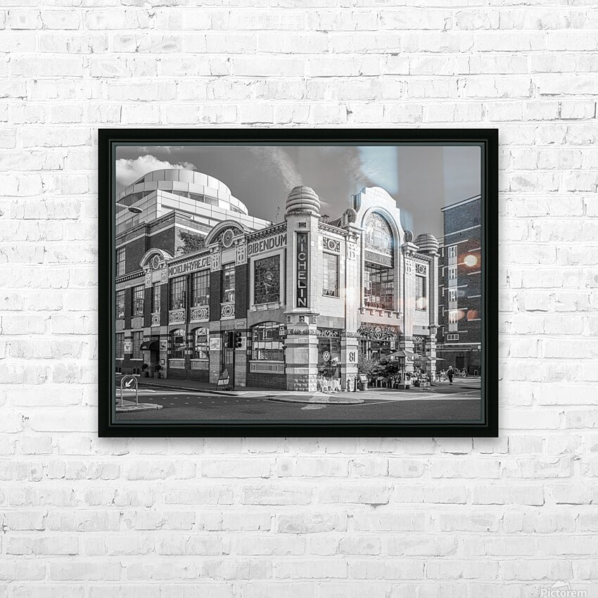 Michelin House, London HD Sublimation Metal print with Decorating Float Frame (BOX)