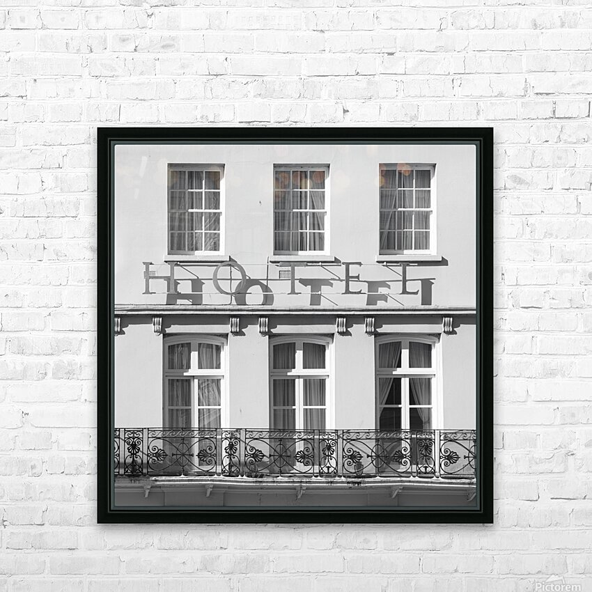 Hotel in Windosr HD Sublimation Metal print with Decorating Float Frame (BOX)