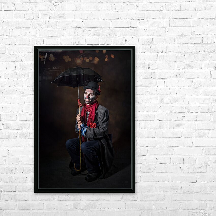Auguste et attente HD Sublimation Metal print with Decorating Float Frame (BOX)