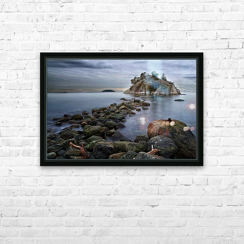 Whytecliff Park HD Sublimation Metal print with Decorating Float Frame (BOX)
