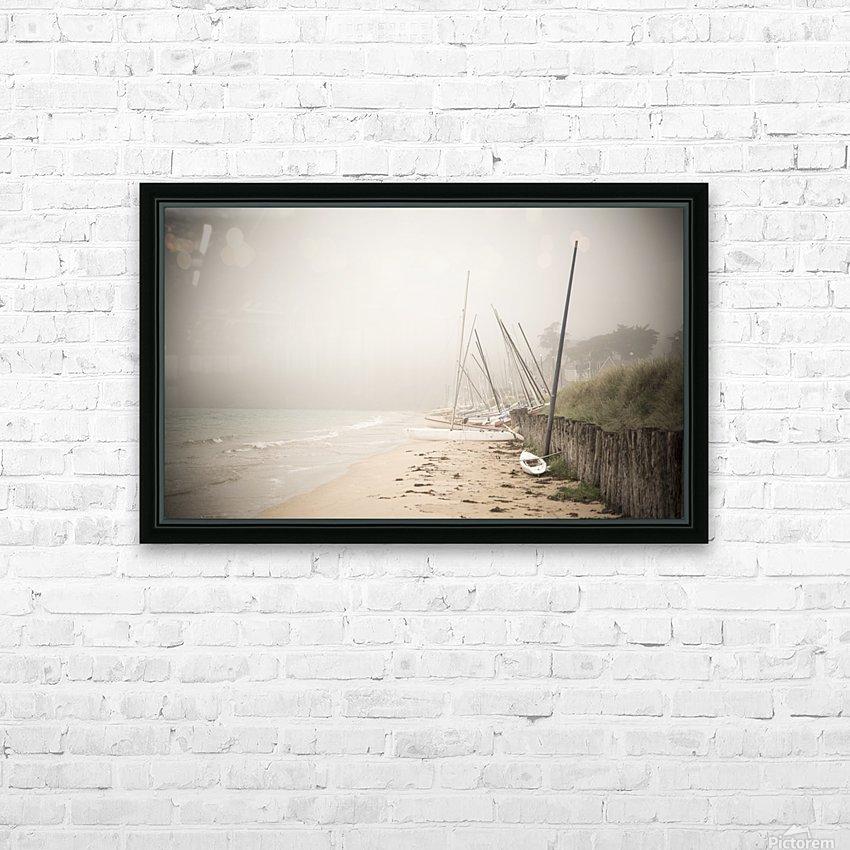 Saint Cast le Guildo HD Sublimation Metal print with Decorating Float Frame (BOX)