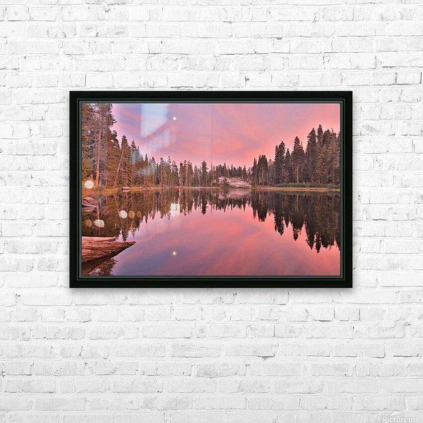 Azalea Sunset HD Sublimation Metal print with Decorating Float Frame (BOX)