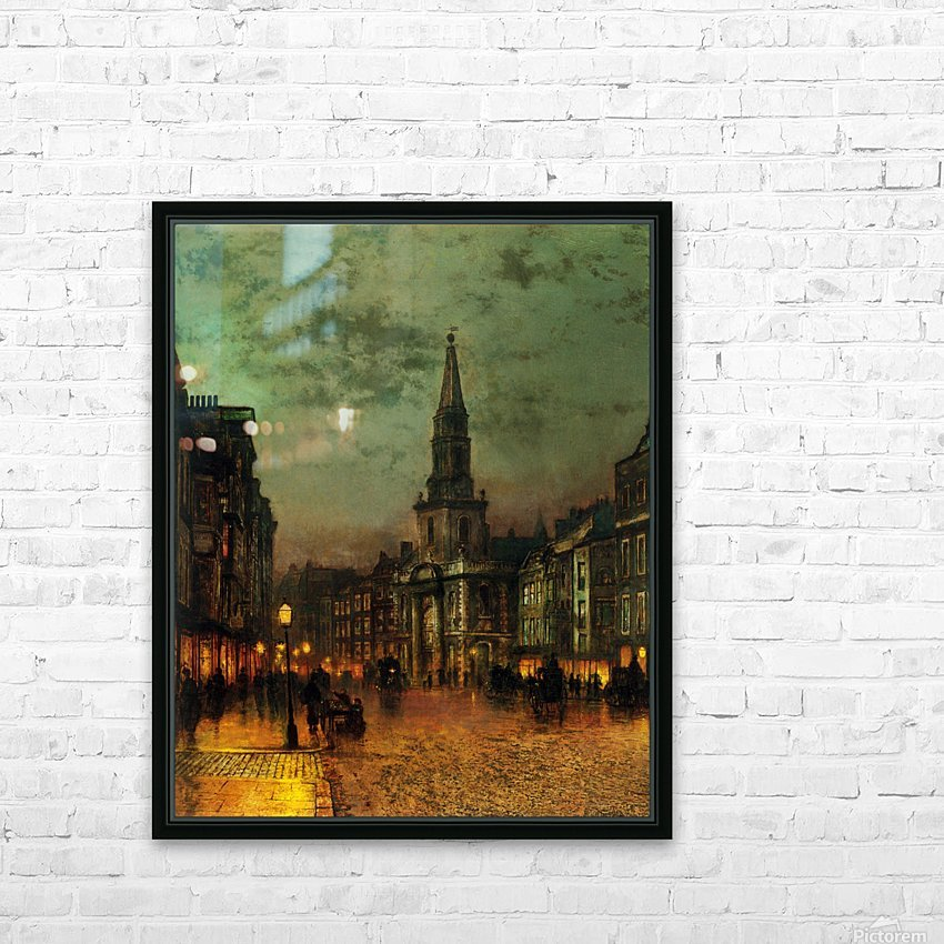 Blackman Street, London HD Sublimation Metal print with Decorating Float Frame (BOX)