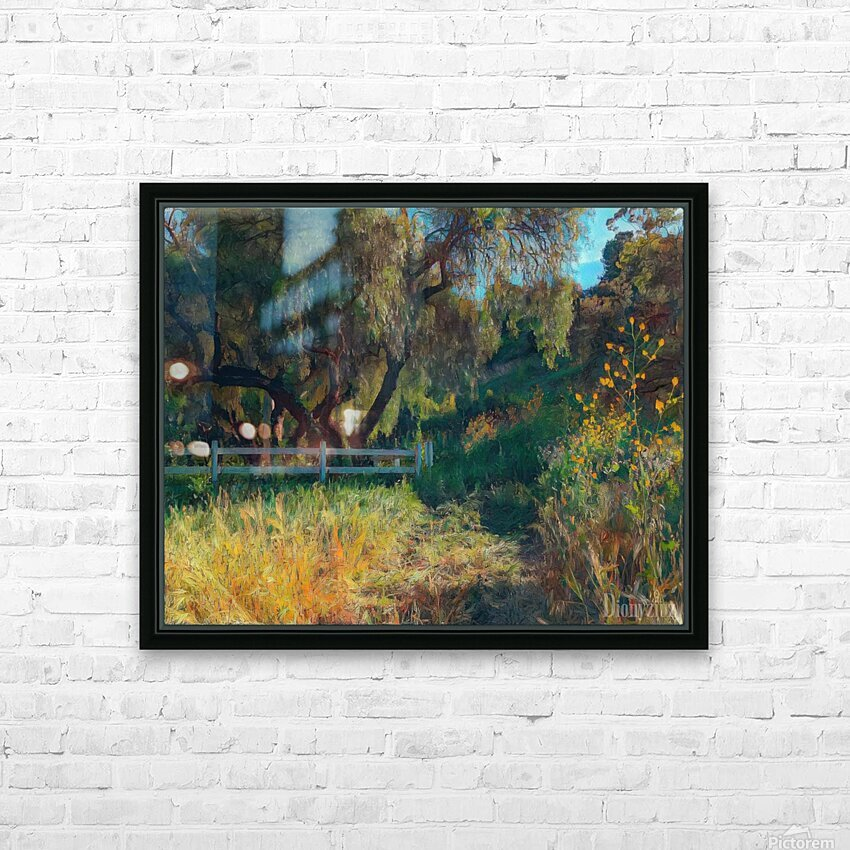 Rolling hills 2 HD Sublimation Metal print with Decorating Float Frame (BOX)