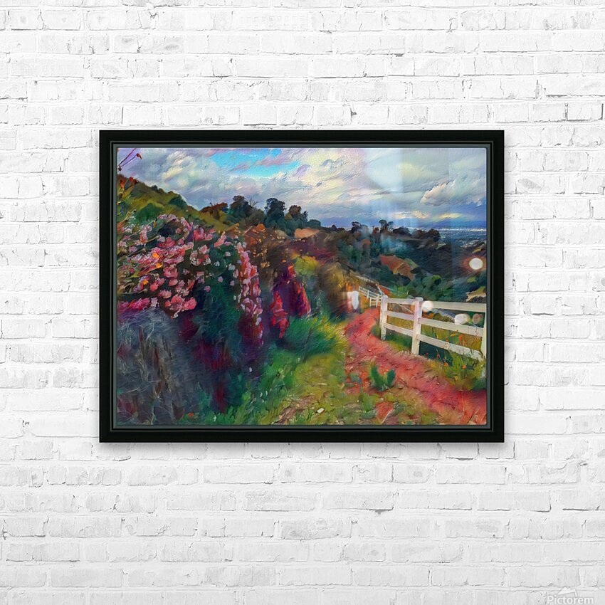 Rollings hills HD Sublimation Metal print with Decorating Float Frame (BOX)