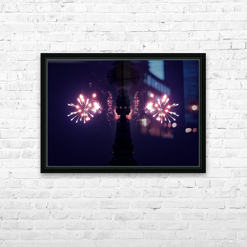 Lights51 HD Sublimation Metal print with Decorating Float Frame (BOX)