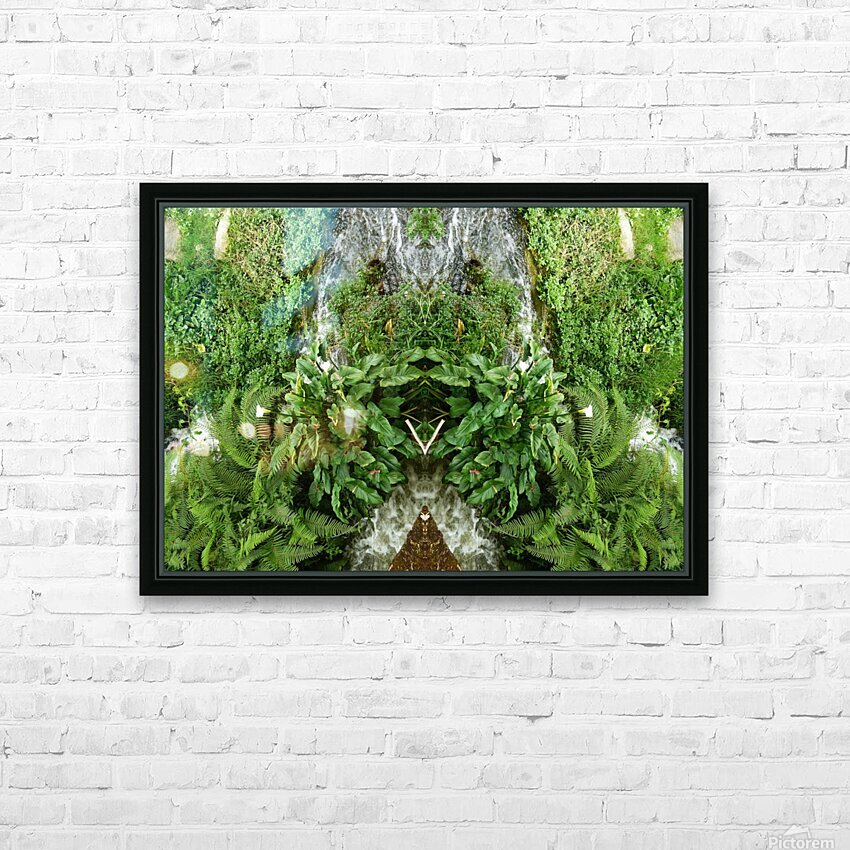 green4 HD Sublimation Metal print with Decorating Float Frame (BOX)