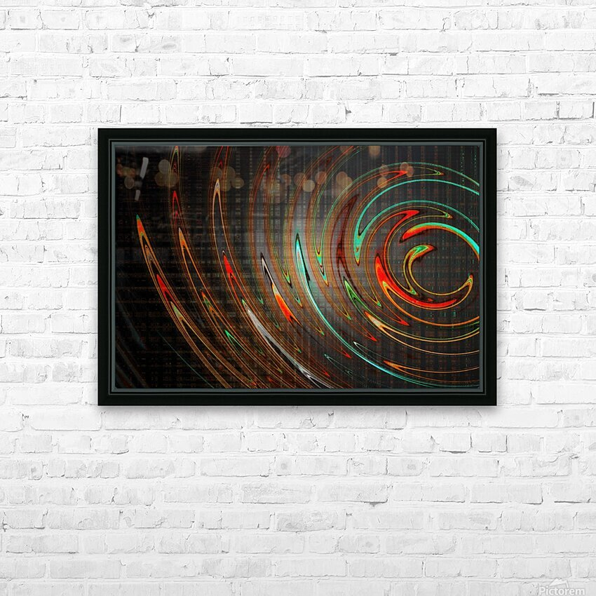 REDBONE HD Sublimation Metal print with Decorating Float Frame (BOX)
